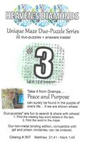 Unique Maze Duo-Puzzle Book  #03