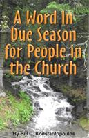A Word in Due Season for People in the Church