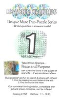 Unique Maze Duo-Puzzle Book  #01