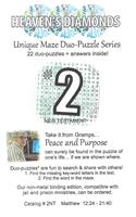 Unique Maze Duo-Puzzle Book  #02
