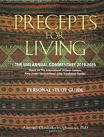 Precepts For Living 2019-2020 Pers Study