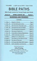 Bible Paths - Adult and Y.P. 2021 - Spring