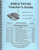 Bible Paths - Adult and Y.P. 2021 - Spring - Teacher
